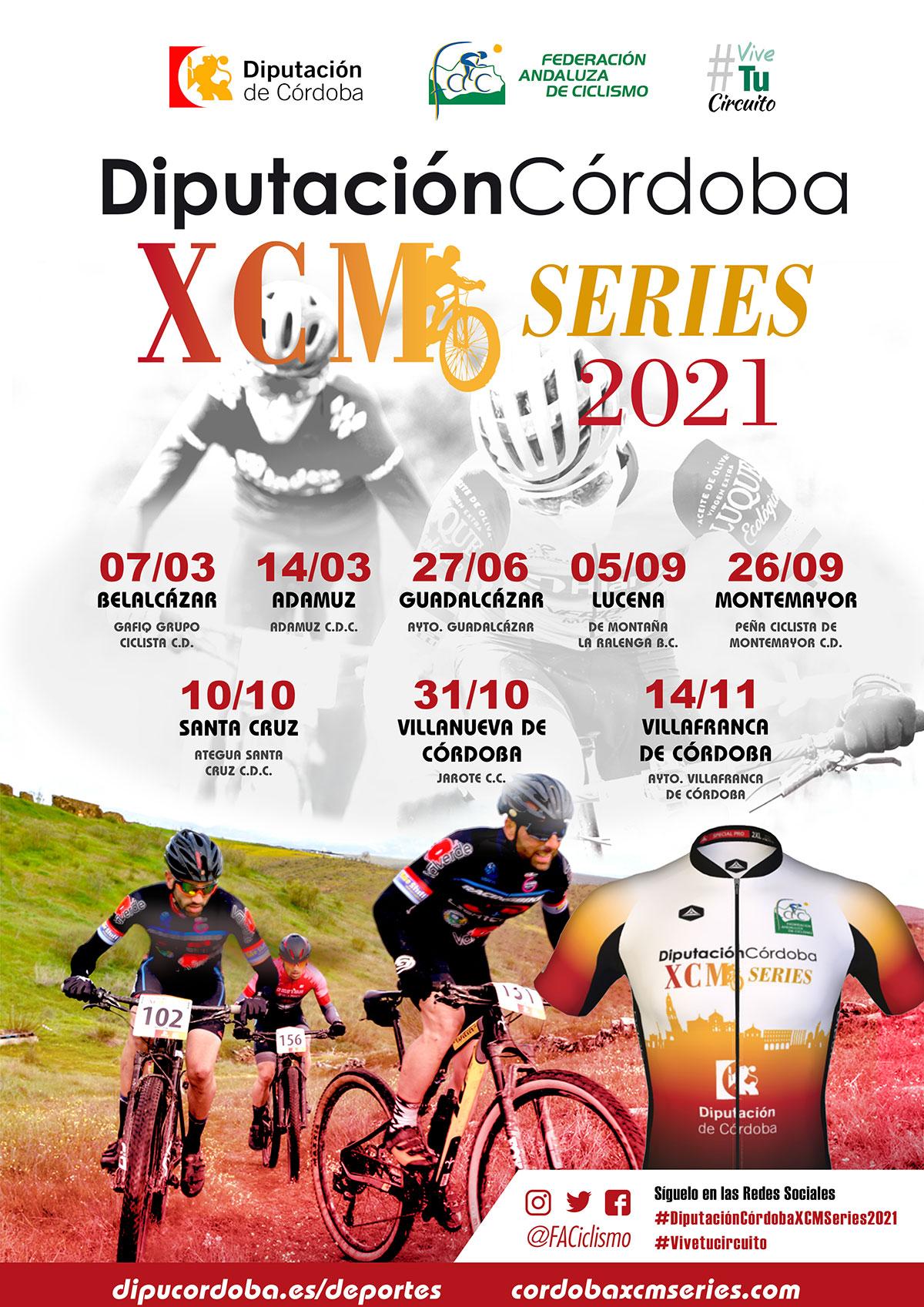 Las 'DiputaciónCórdoba XCM Series 2021' regresan con la I Media Maratón Guadalcázar