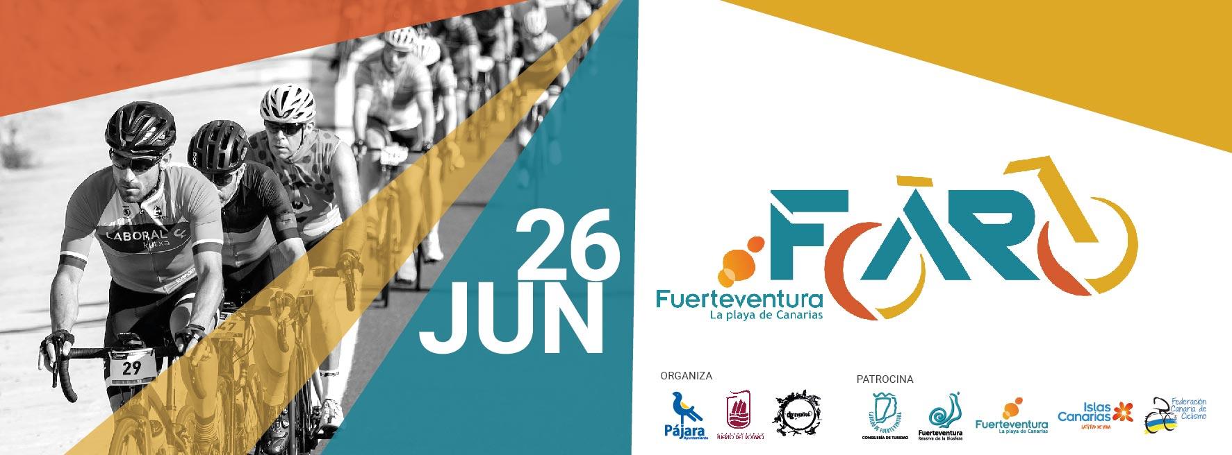 La Ciclodeportiva Faro de Fuerteventura, el 26 de junio de 2021