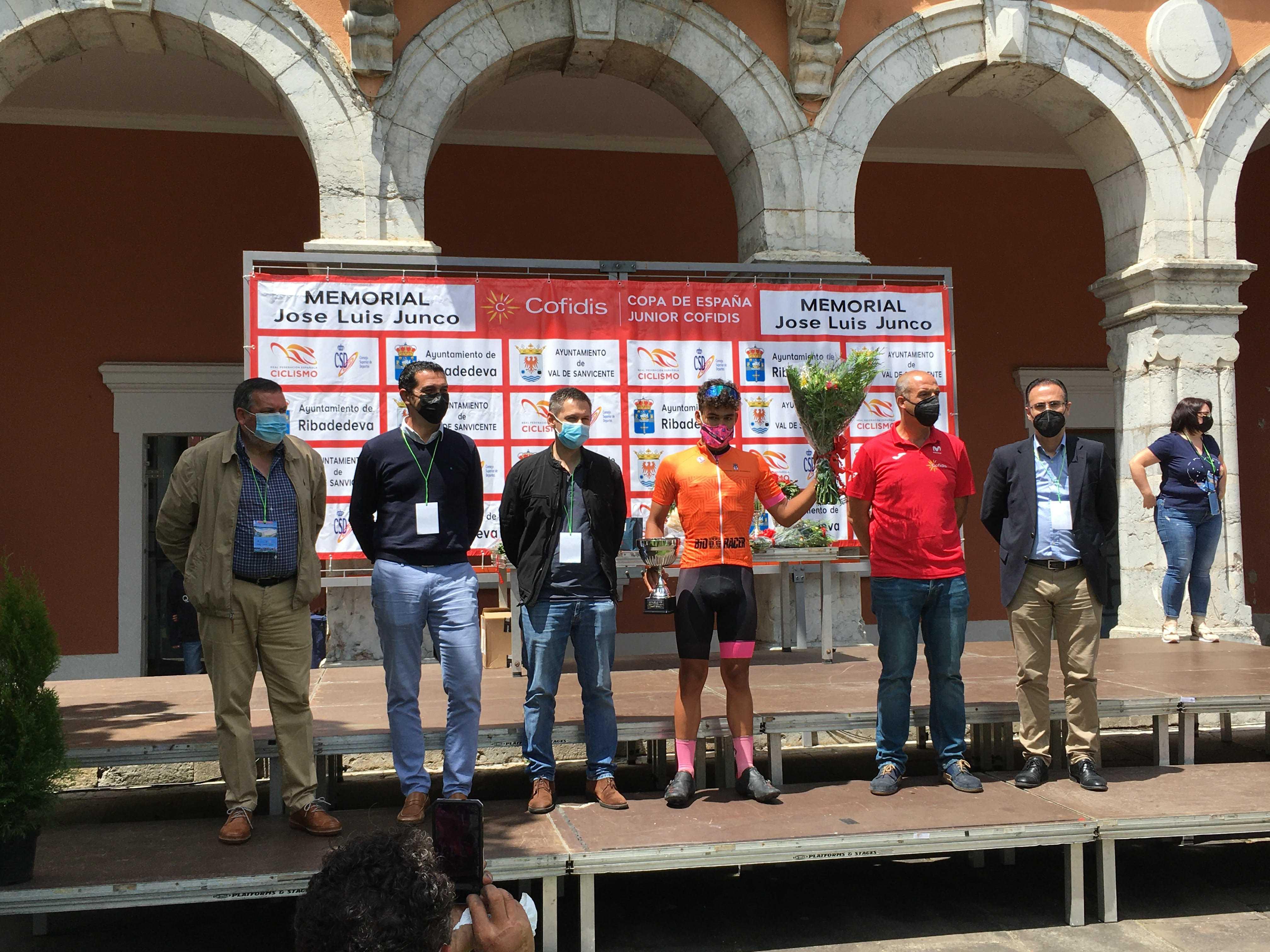 Pau Martí se impone en el Memorial José Luis Junco de la Copa de España Junior Cofidis