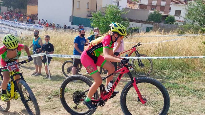 La-preseleccion-de-los-Campeonatos-de-Espana-de-Ciclismo-Escolar-en-marcha