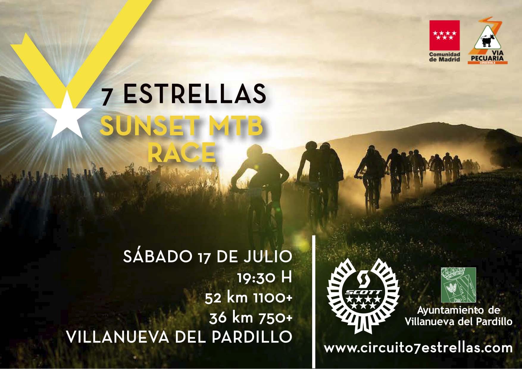 Llega la Sunset MTB Race by Scott a Villanueva del Pardillo el 17 de Julio