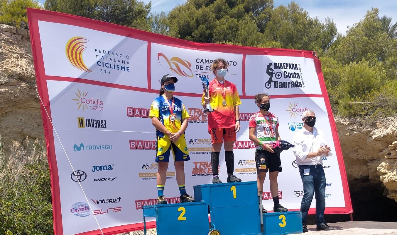 Conejos, Sáenz de Ormijana y Barón, campeones de España de trial 2021