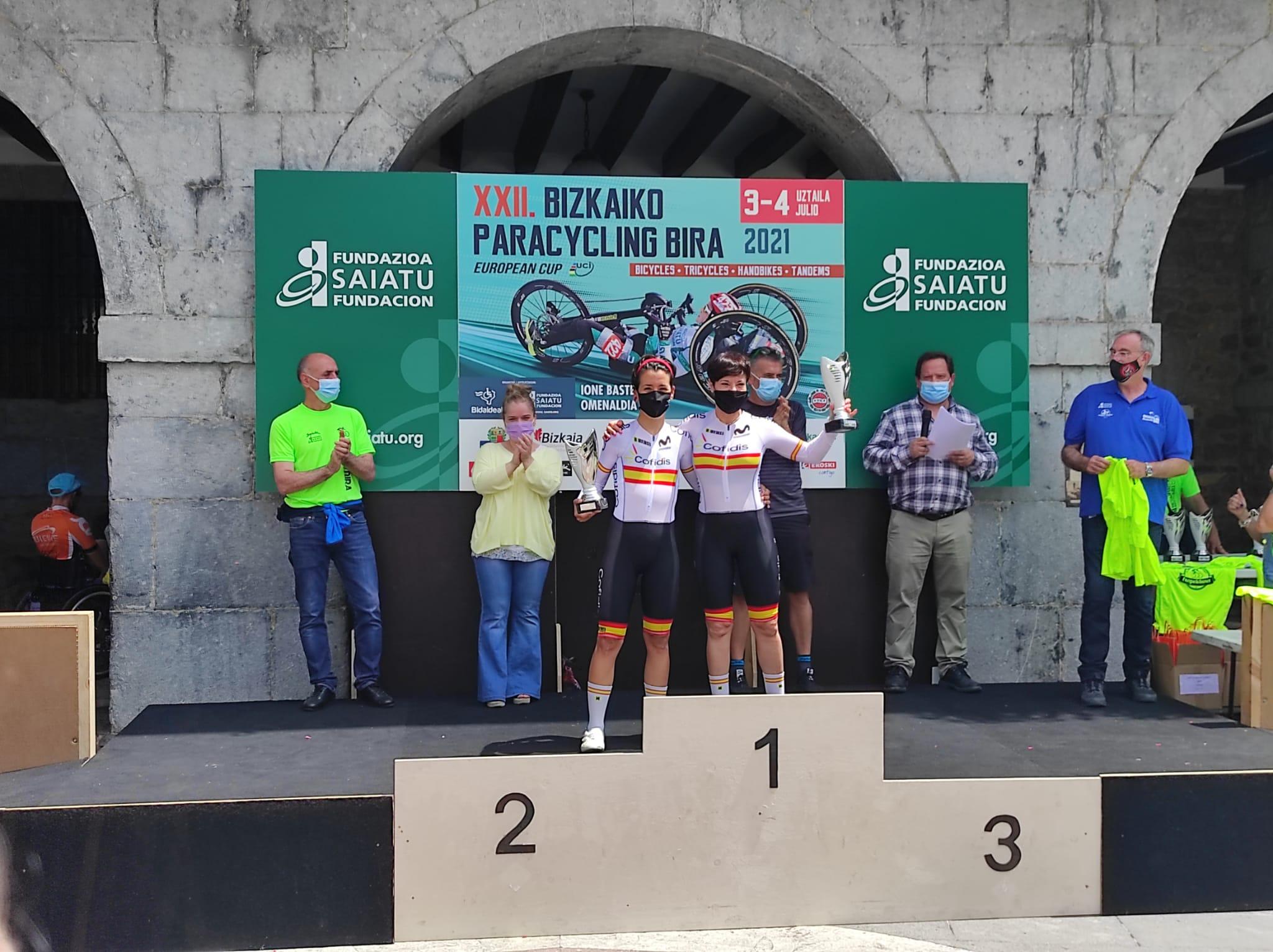 La Selección Española de Ciclismo Adaptado completa una gran Paracycling Bira