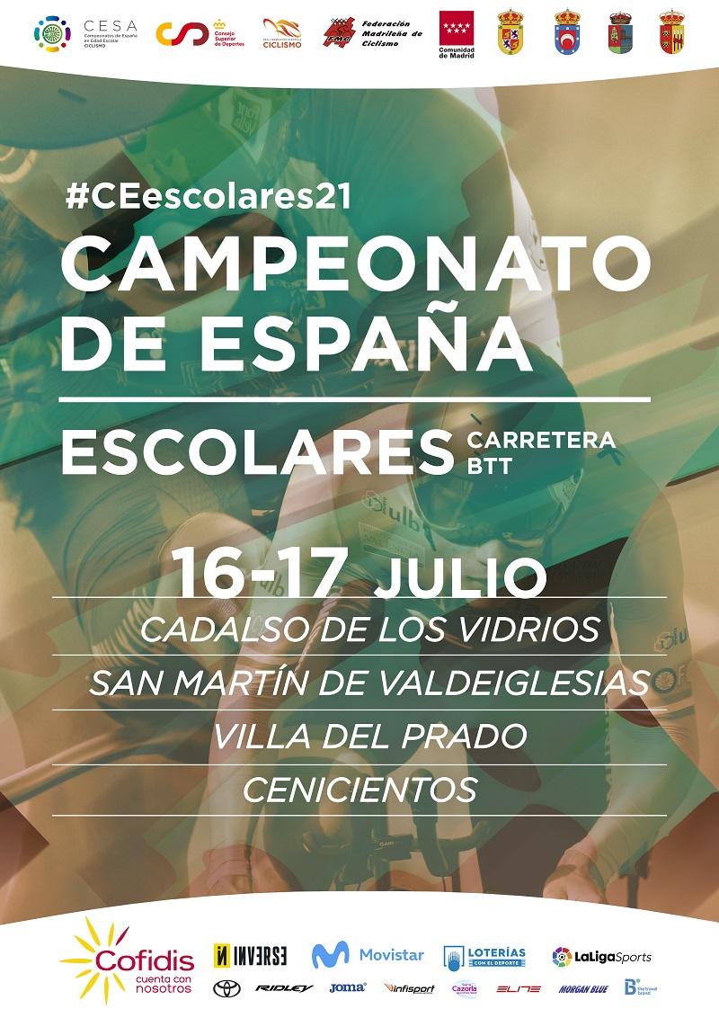 Convocatoria de la Selección Andaluza para los Campeonatos de España Escolares 2021