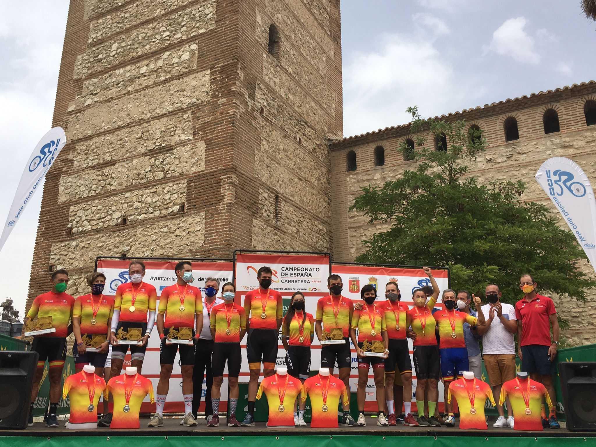 El Campeonato de España Máster echa el cierre encumbrando a 13 campeones CRI