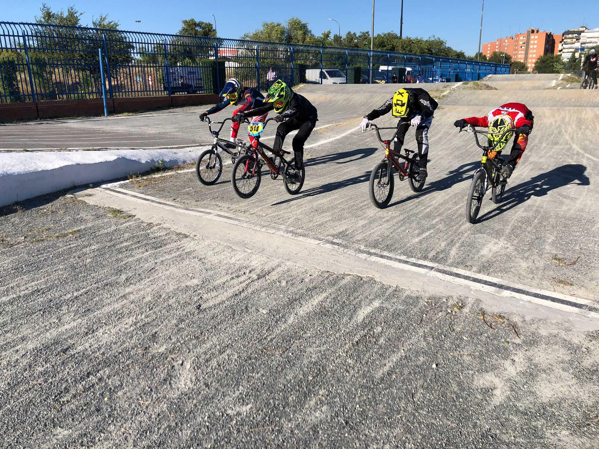 Los entrenamientos de tecnificación de BMX prosiguen antes del parón veraniego