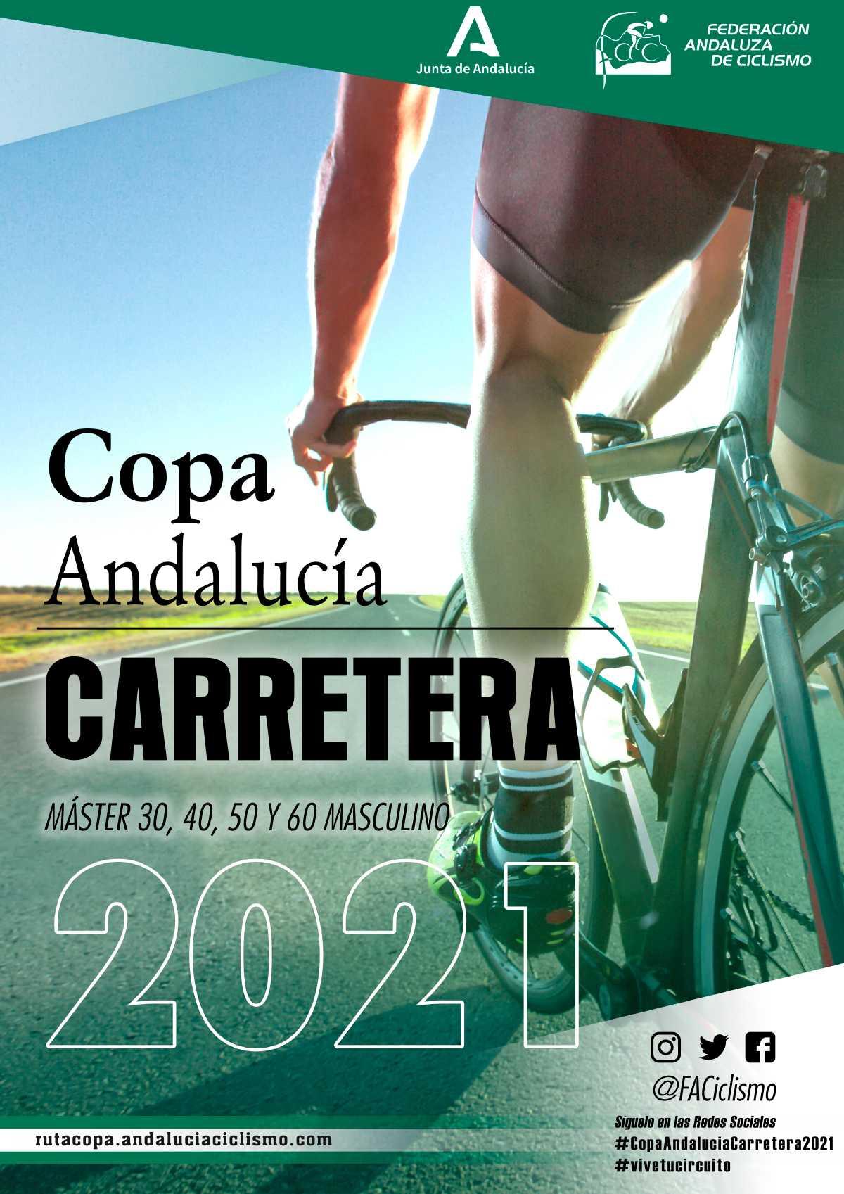 La Copa Andalucía Carretera Máster 2021 se decide en Montemayor