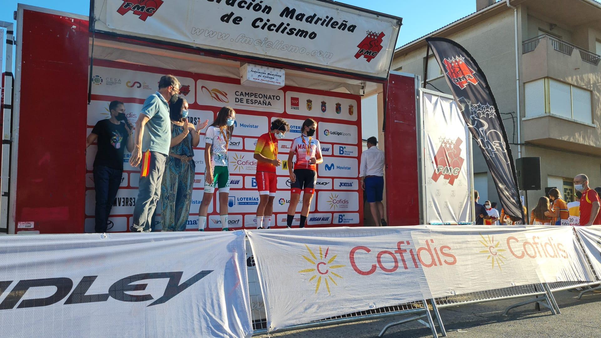 Irene Moreno le da a la delegación madrileña con su bronce la tercera medalla del día