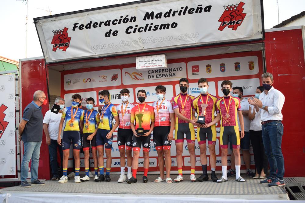 Seis medallas para una inolvidable jornada en los Campeonatos de España Escolares