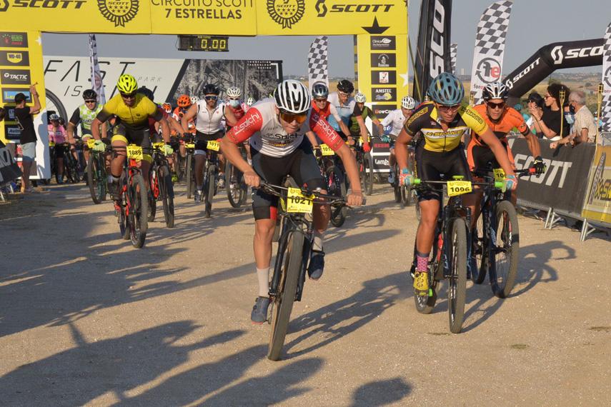 Victorias en la Sunset MTB Race de Villanueva del Pardillo para Natalia Fischer y José María Sánchez