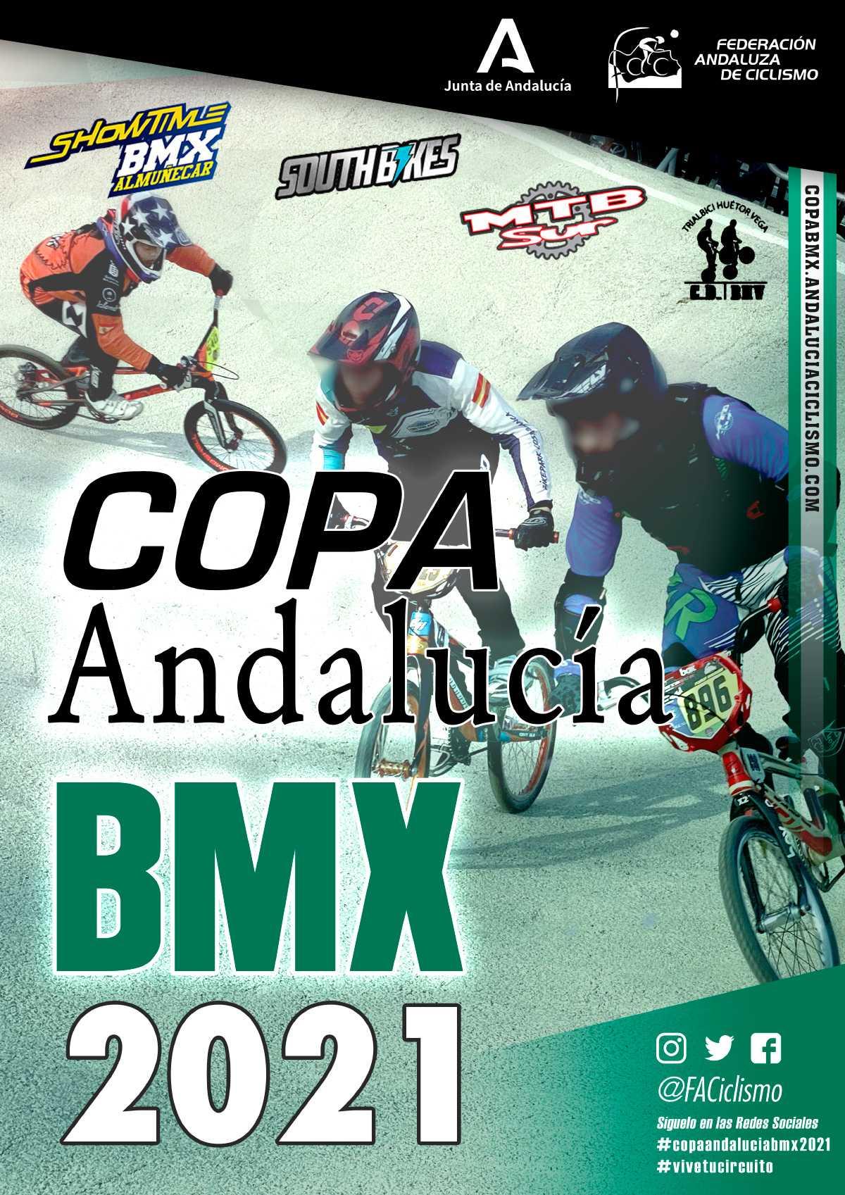 La Copa Andalucía BMX 2021 pone rumbo a Los Barrios