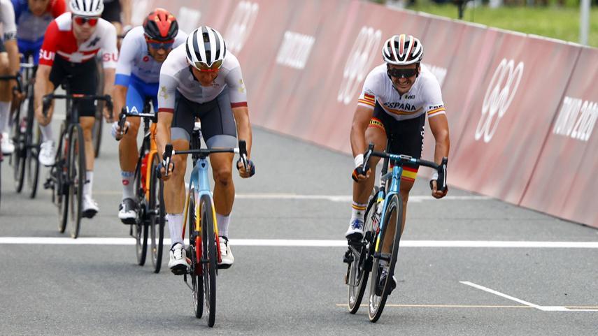 Gorka-Izagirre-23-en-la-prueba-en-linea-masculina-de-los-Juegos-Olimpicos-de-Tokio