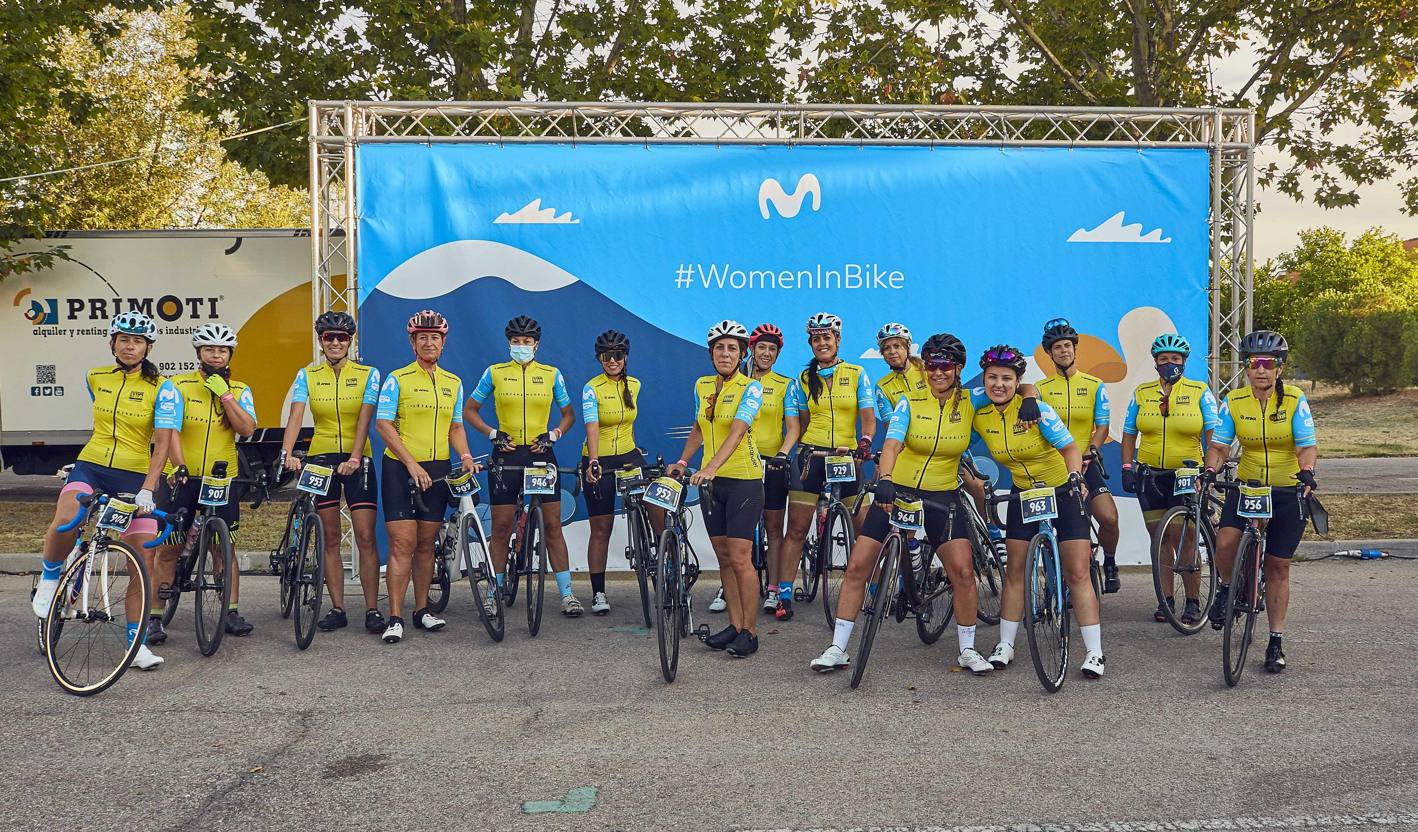 Las líderes de Women In Bike participan en la prestigiosa L'Étape by Tour de France