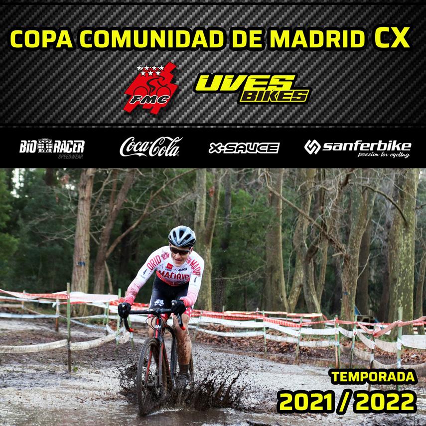 Calendario provisional de la Copa Comunidad de Madrid de ciclocross Uves Bikes