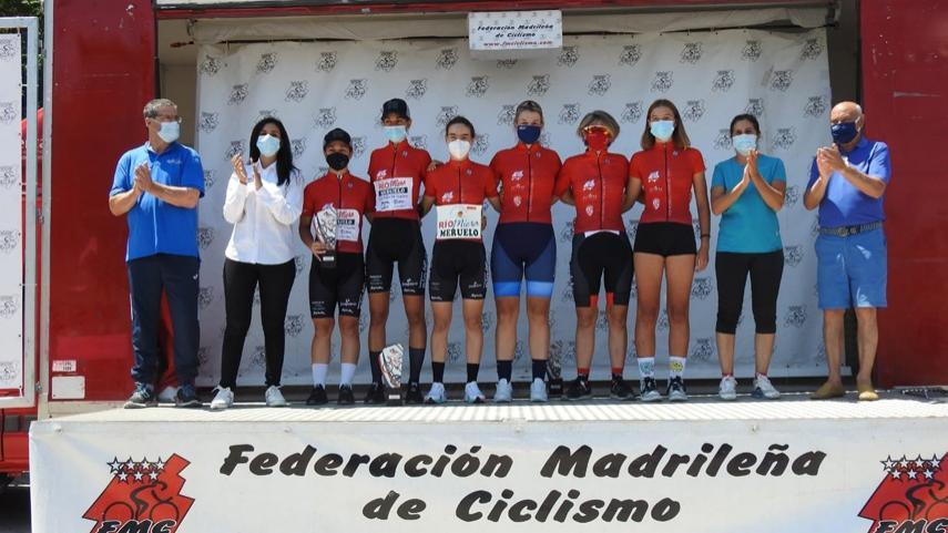 Fuenlabrada-acogio-la-segunda-puntuable-de-la-I-Liga-Interautonomica-de-Ciclismo-Femenino