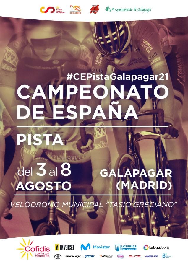 Galapagar acoge del 3 al 8 de Agosto la gran fiesta de la pista con los Campeonatos de España (ACTUALIZADA)
