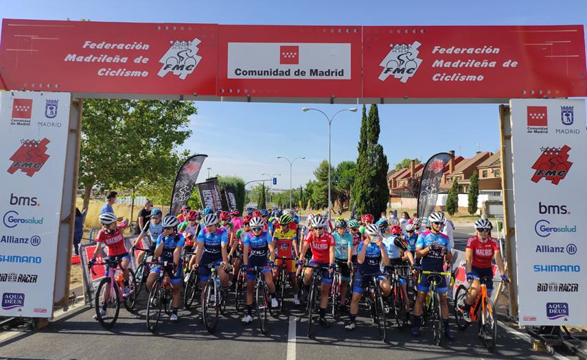 Cambios en la Liga Interautonómica  de Ciclismo Femenino