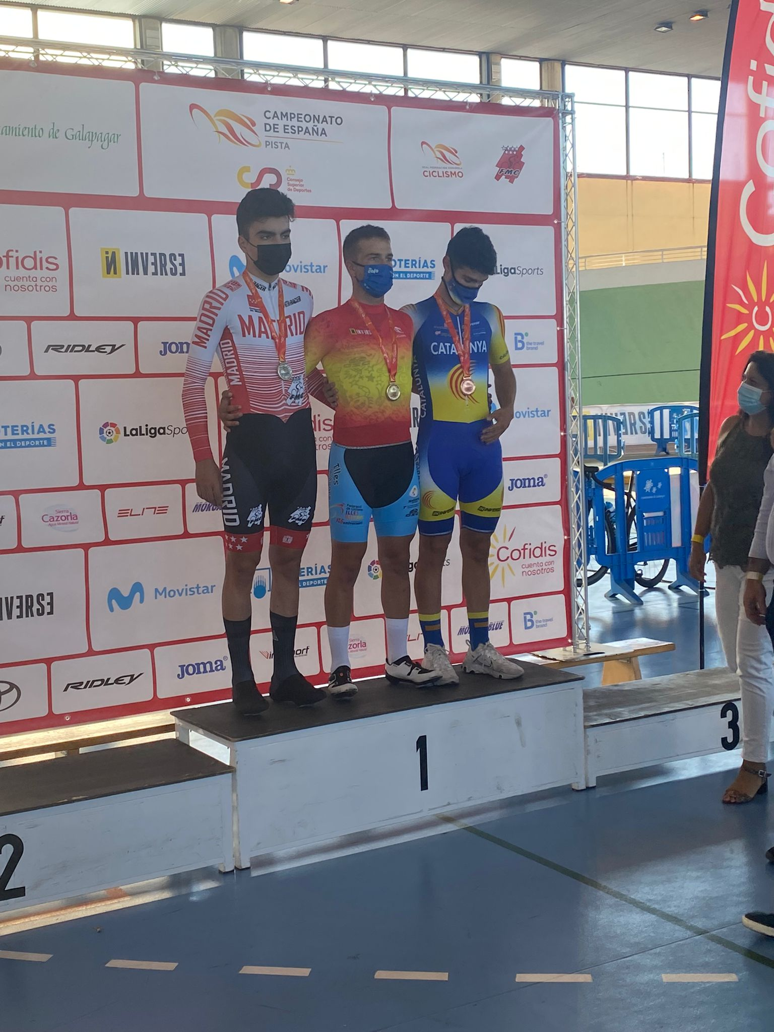 Excelente balance para la pista madrileña junior y cadete en los Campeonatos de España de Galapagar