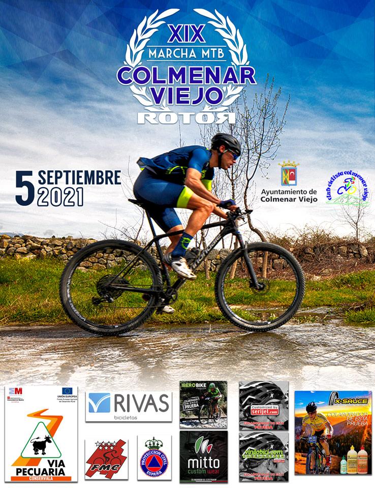 El 5 de Septiembre regresa la XIX Marcha MTB Colmenar Viejo Rotor