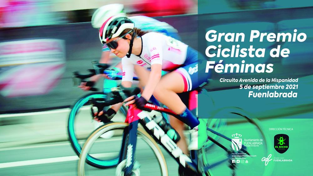 El 5 de Septiembre, a escena el Gran Premio Ciclista Femenino Ciudad de Fuenlabrada