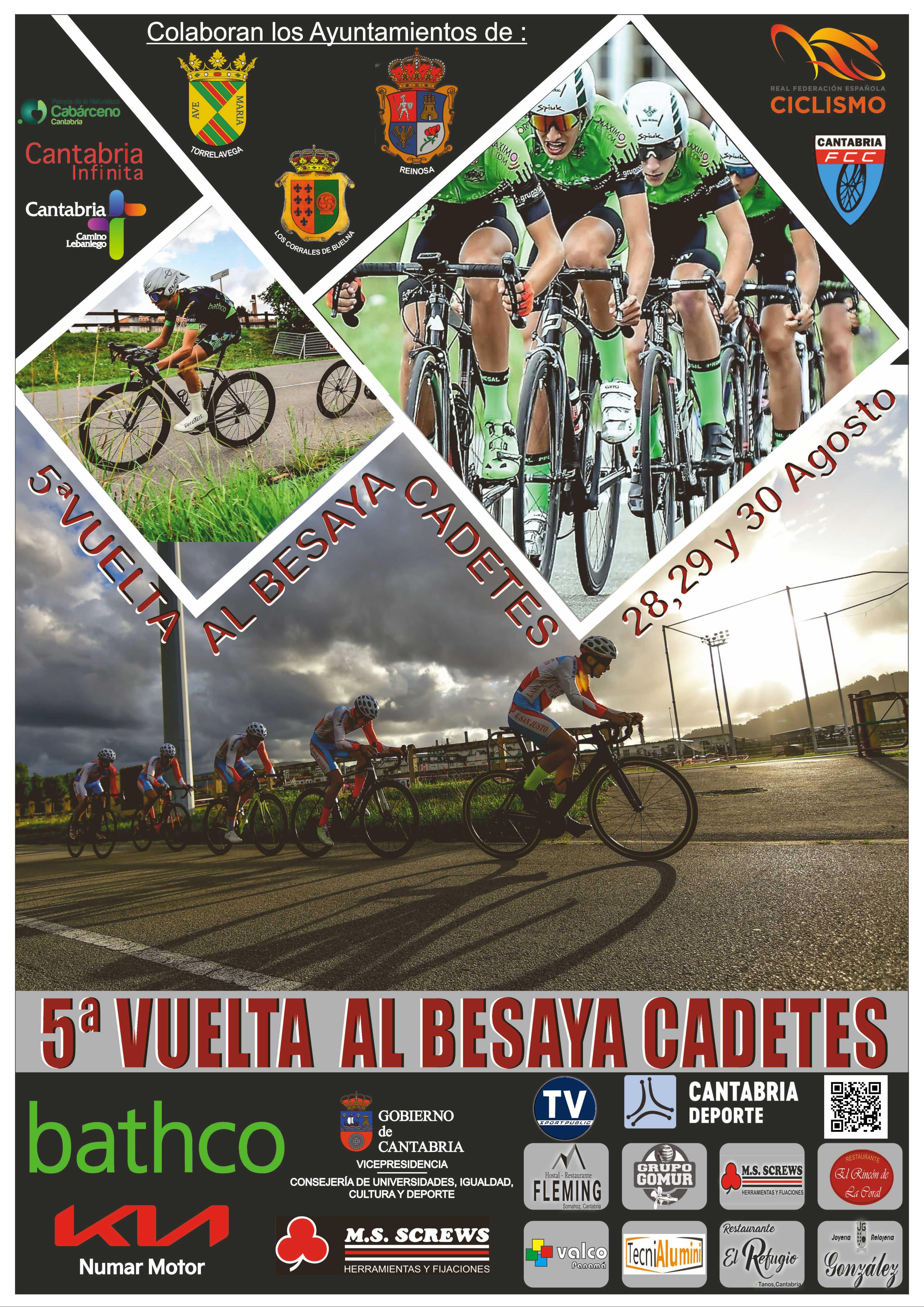 A Selección de Galicia inicia este sábado a súa participación na V Vuelta al Besaya Cadete