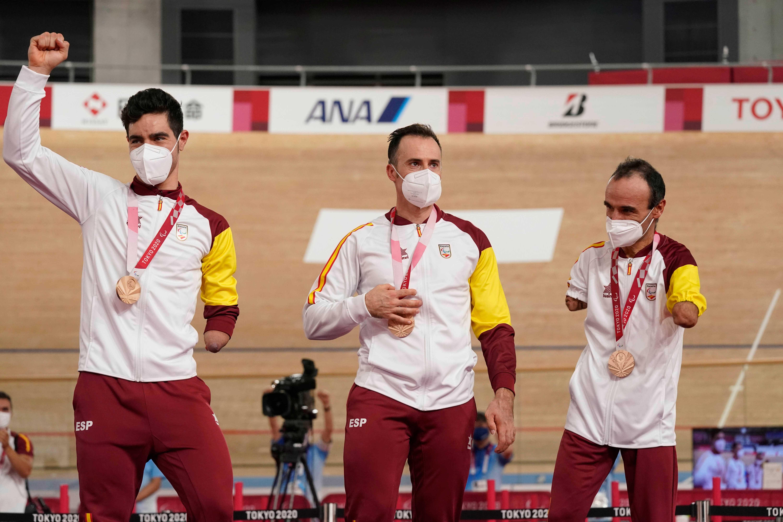 Ten, Jaramillo y Cabello, bronce en la velocidad por equipos de Tokio 2020