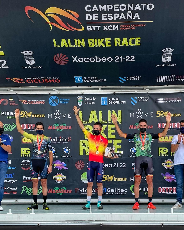 El mountain bike madrileño se cuelga tres medallas en los Campeonatos de España de maratón (XCM)