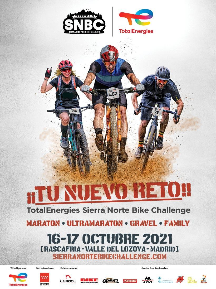 Novedosa prueba de maratón en la Total Energies Sierra Norte Bike Challenge de Rascafría