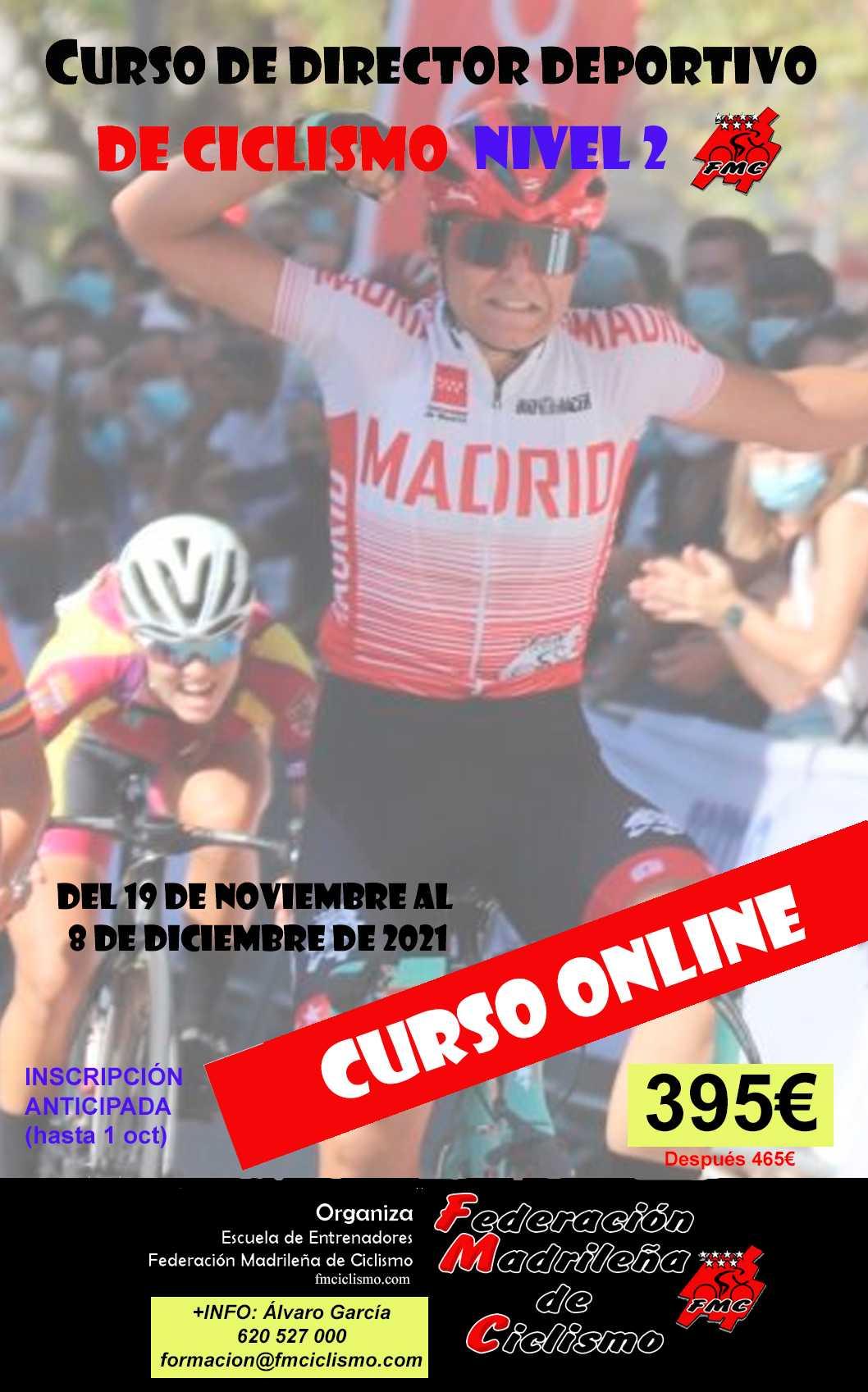 Disponibles los Cursos de Director Deportivo Nivel I y II online