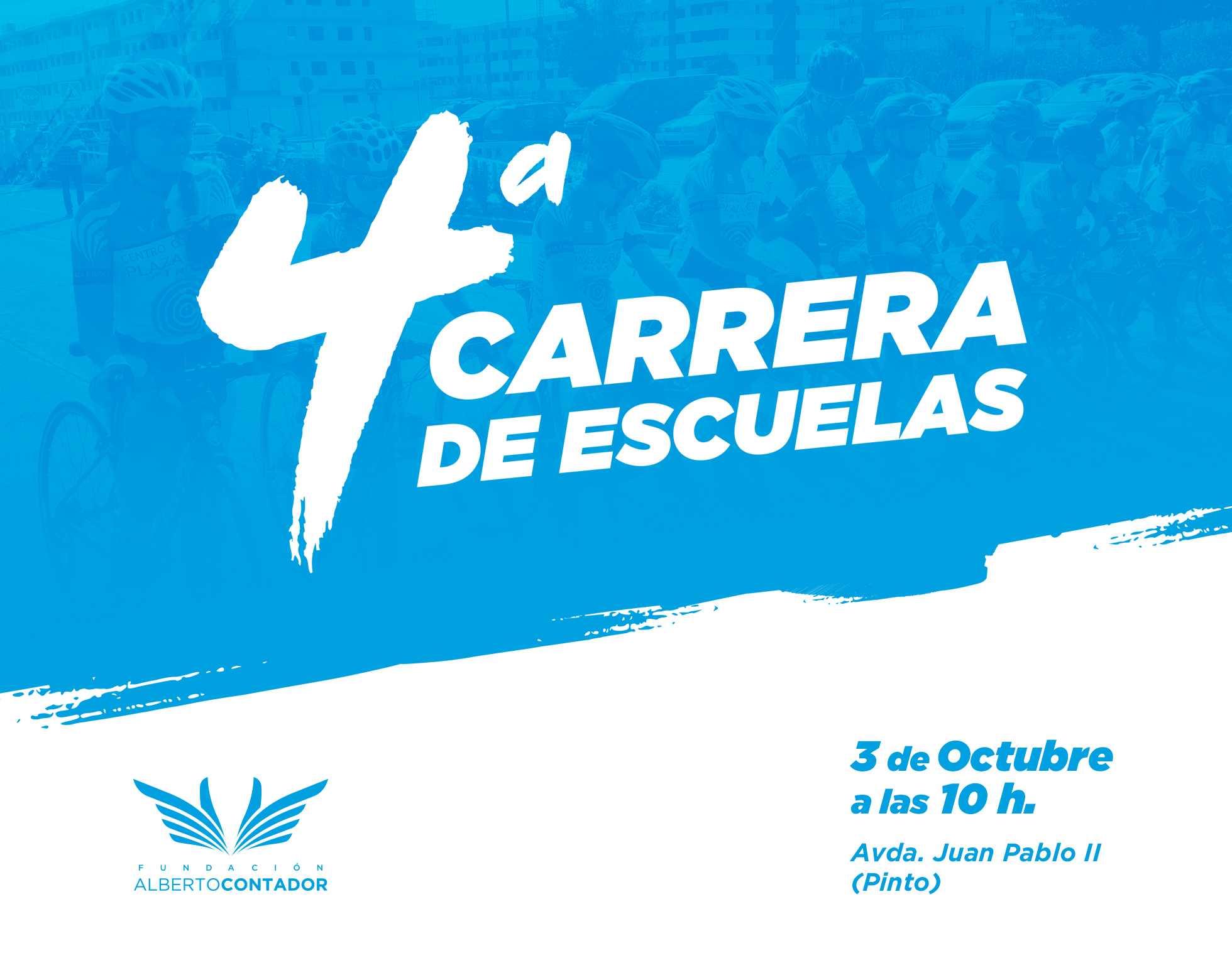 La Carrera de Escuelas de la Fundación Contador regresa a las calles de Pinto el 3 de Octubre