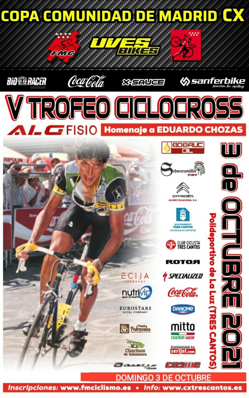 Tres Cantos, primera prueba de la XVII Copa Comunidad de Madrid de Ciclocross