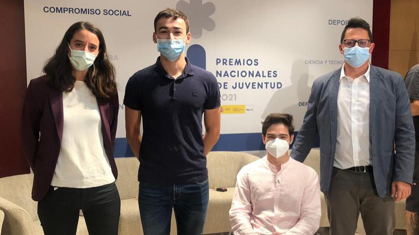 Dos-ciclistas-madrilenos-galardonados-en-los-Premios-Nacionales-de-Juventud