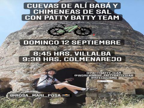 CUEVAS ALI BABA CON PATTY BATTY TEAM