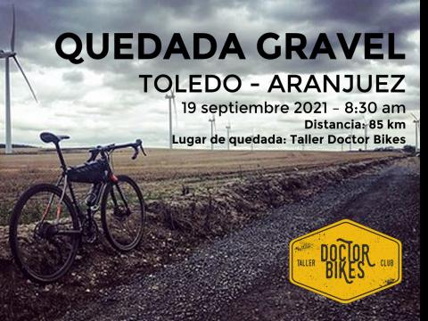 RUTA GRAVEL. Toledo - Aranjuez