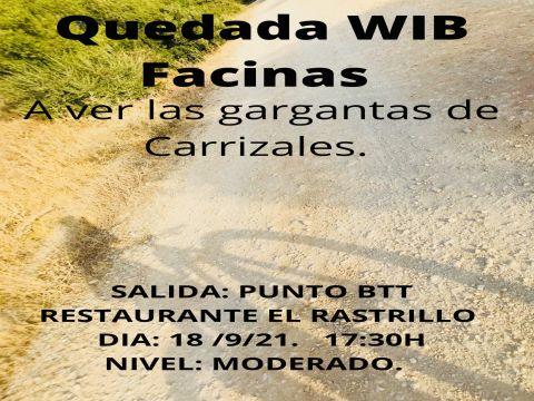 WIB Facinas: A ver las gargantas de Carrizales
