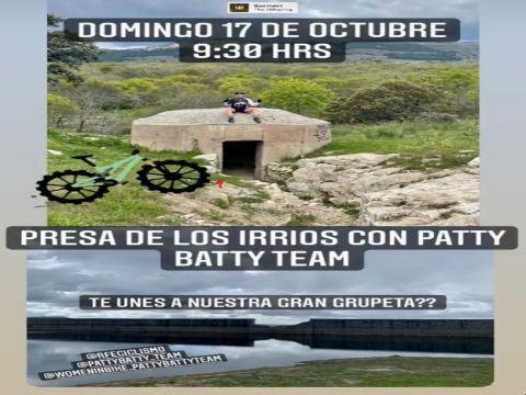 PRESA DE LOS IRRIOS PATTY BATTY TEAM
