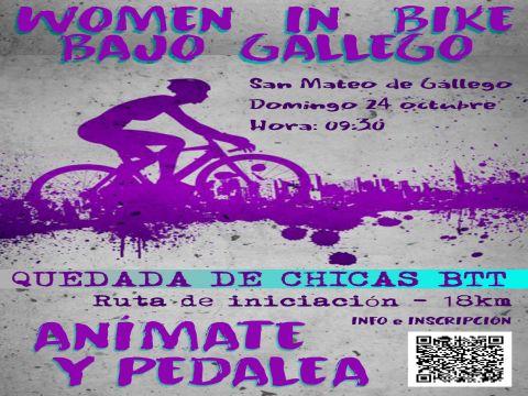 WOMEN IN BIKE BAJO GÁLLEGO