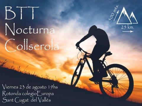 Btt Nocturna Collserola