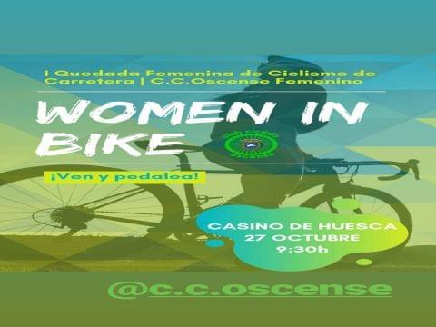 I Quedada oscense de ciclismo femenino