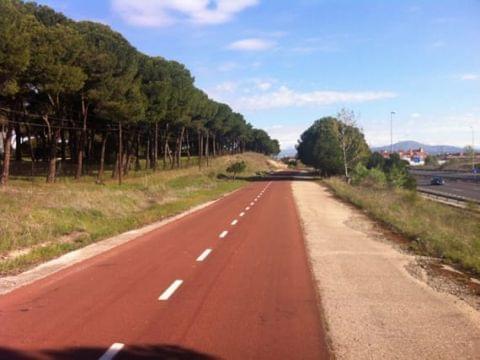 Ruta Carril bici Colmenar