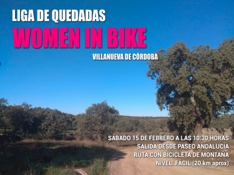 II QUEDADA LIGA WOMEN IN BIKE