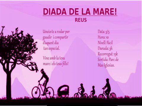 Sortida Dia de la Mare, Reus!