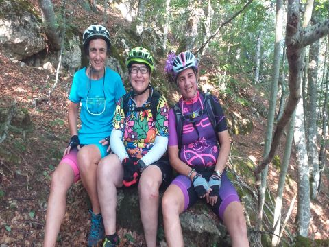 WOMEN IN BIKE HUESCA