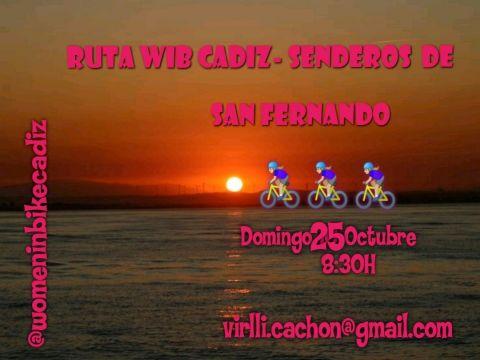 RUTA WIB CADIZ - SENDEROS SAN FERNANDO