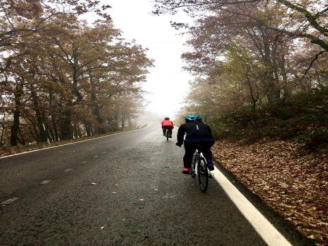 Iniciación carretera.Grupo A 65 km y Grupo B 35 km