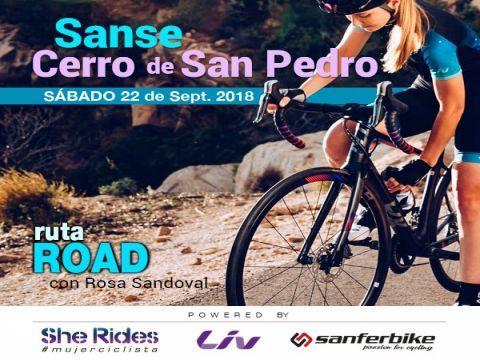 Ruta ROAD del Club She Rides MADRID Cerro San Pedr