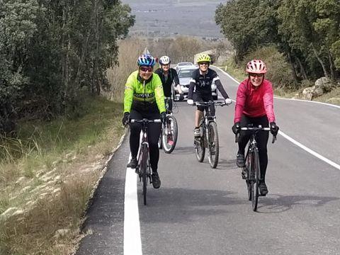 Iniciación a bici de carretera por la tranquilidad