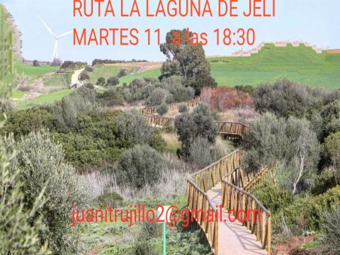 RUTA  W.I.B. LAGUNA DE JELI
