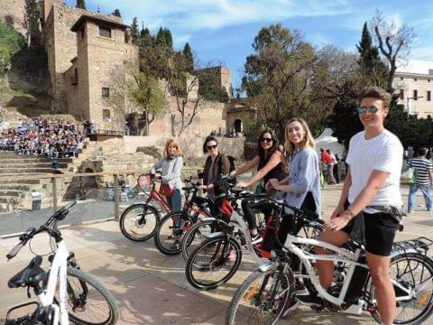 Málaga en bici
