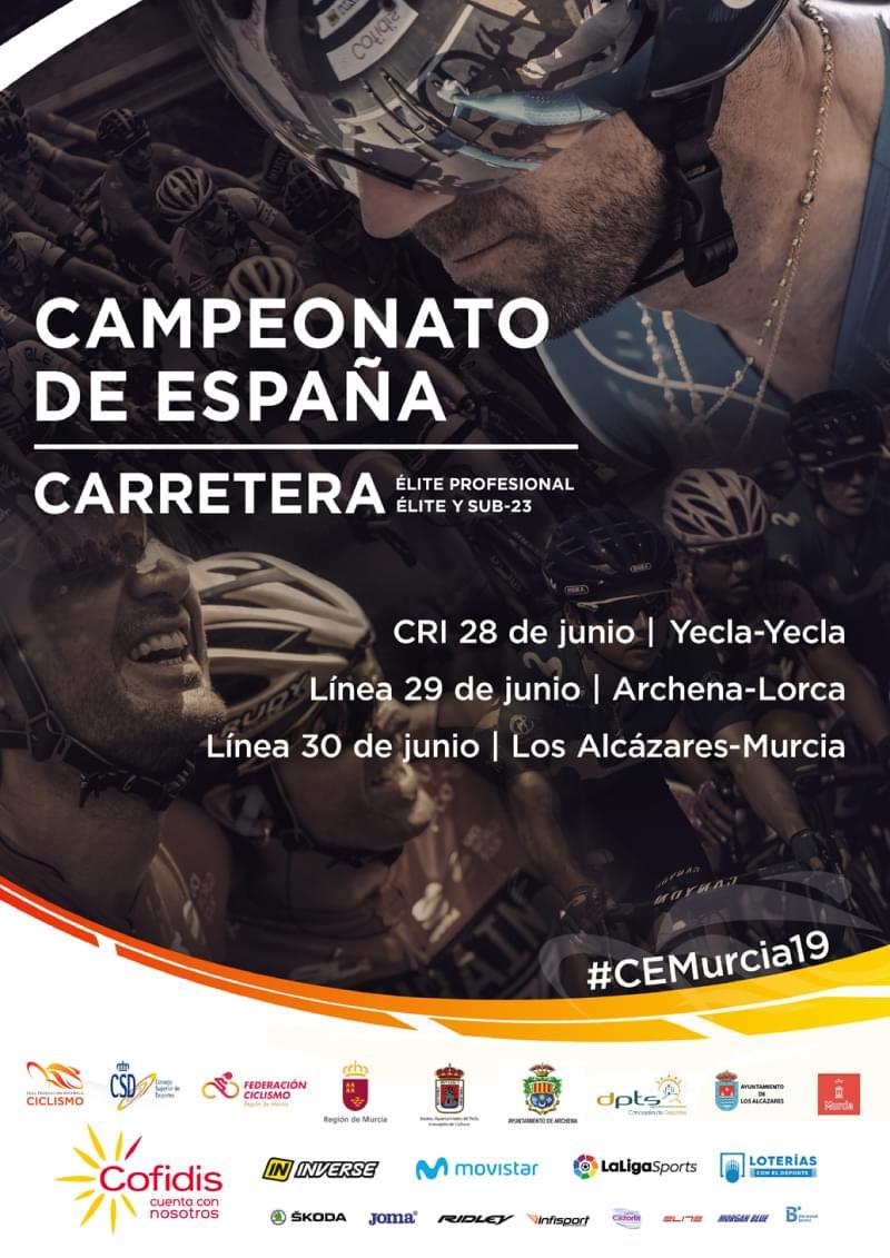 Campeonato España Profesional,Élite H M y Sub23 2019
